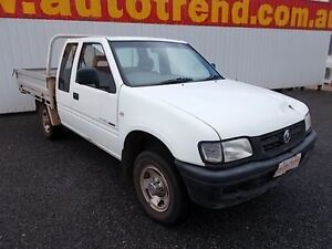 2002 Holden Rodeo TF MY02 LX Space Cab White 5 Speed Manual Utility Winnellie Darwin City Preview