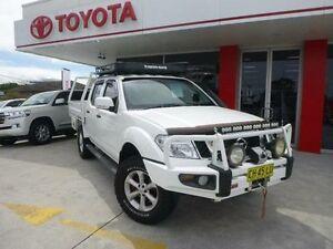 2011 Nissan Navara D40 Series 4 ST-X (4x4) White 6 Speed Manual Dual Cab Pick-up Allawah Kogarah Area Preview