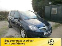 2011 11 VAUXHALL ZAFIRA 1.6 EXCLUSIV 5DR 7 SEVEN SEATER AIRCON CD ELECTRIC PACK
