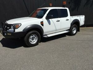 2011 Ford Ranger PK XL White 5 Speed Automatic 4D Utility Moorabbin Kingston Area Preview
