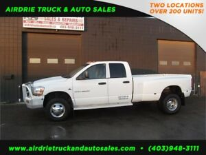 2006 Dodge Ram 3500 SLT 5.9 Dually Manual !!