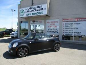 2013 MINI Cooper décapotable AUTOMATIQUE  $74/SEM  WOH!!!