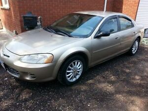2002 CHRYSLER SEBRING PARTS