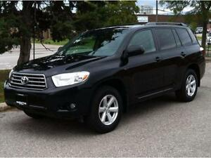 2010 TOYOTA HIGHLANDER 4X4 - 7 PASS|LEATHER|BACK UP CAMERA