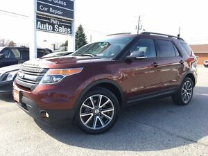 2015 Ford Explorer XLT 4x4 - 7 PASSENGER - V6 - PANORAMIC ROOF