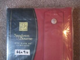 """Brand New Curtains - - 66"""" x 90"""" - - £10 - -"""