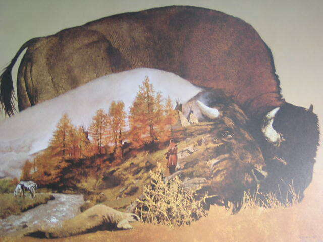 Ron Faner Buffalo Dream Bison Signed Limited Edition Art Print