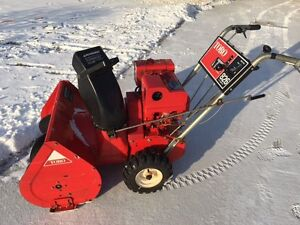 Toro 8 HP 26 Inch Snow Blower, Electric Start, just serviced