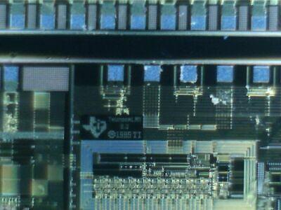 6 Silicon Wafer Texas Instruments Thunderlan 3.0 Vintage