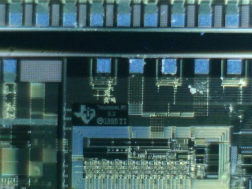 "6"" Silicon wafer Texas Instruments ThunderLan 3.0, Vintage !"