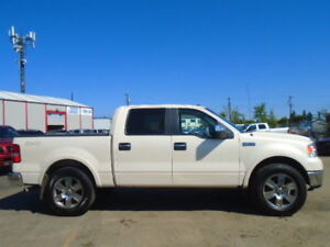 2008 Ford F-150 SuperCrew LARIAT-4X4-HEATED LEATHER-SUNROOF-211K