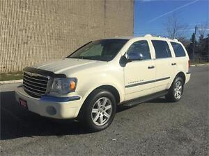 2007 Chrysler Aspen 7 Passenger/DVD/Certified and E-Tested