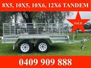 10x6 FULLY WELDED HOT DIP GALVANISED TRAILER, 2000KG ATM Altona North Hobsons Bay Area Preview