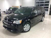 2014 Dodge Grand Caravan SXT,STOW N GO, NOIR,MIN VAN 7 PLACES