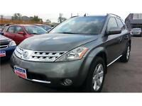 2006 Nissan Murano SL LEATHER, REAR CAMERA, S-ROOF,AWD,106K !!