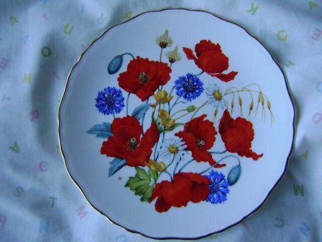 d6ba2ac4da67 British Wild Flowers on Bone China. Blairgowrie
