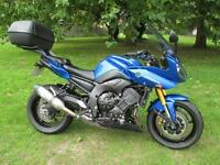 Yamaha Fazer FZ8 sports touring motorcycle