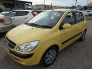 2007 Hyundai Getz TB MY07 SX Yellow 4 Speed Automatic Hatchback Aroona Caloundra Area Preview