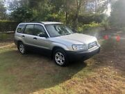 2003 Subaru Forester 79V MY03 X AWD Silver 4 Speed Automatic Wagon Capalaba Brisbane South East Preview