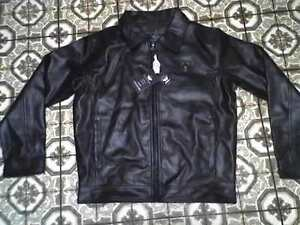 Italy Style Faux Leather Jacket - Brand New - Sz M