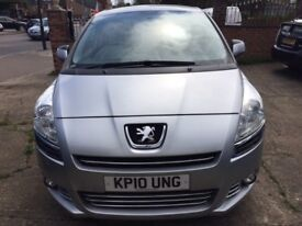 PEUGEOT 5008 MPV VERY GOOD CONDITION, MANUAL, 1 PREVIOUS OWNER, FULL 1 YEAR'S MOT, RECENTLY SERVICED