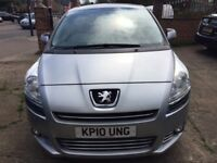 PEUGEOT 5008 MPV VERY GOOD CONDITION, MANUAL,7 SEATER, 2 KEYS,FULL 1 YEAR'S MOT, RECENTLY SERVICED