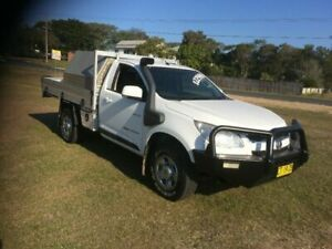 2013 Holden Colorado RG MY14 DX White 6 Speed Manual Cab Chassis South Grafton Clarence Valley Preview