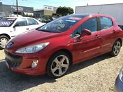 2008 Peugeot 308 XTE HDI Babylon Red 6 Speed Automatic Hatchback Keysborough Greater Dandenong Preview
