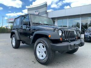 2013 Jeep Wrangler Sport 4WD 6SPD ONLY 138KM NEW BALL JOINTS