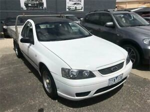 2005 Ford Falcon BF XL Automatic Cab Chassis Dandenong Greater Dandenong Preview