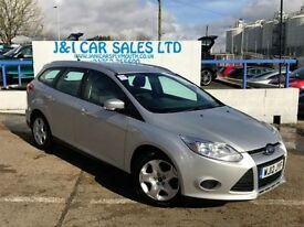 FORD FOCUS 1.6 EDGE TDCI 115 5d 114 BHP A LOW PRICE DIESEL (silver) 2012
