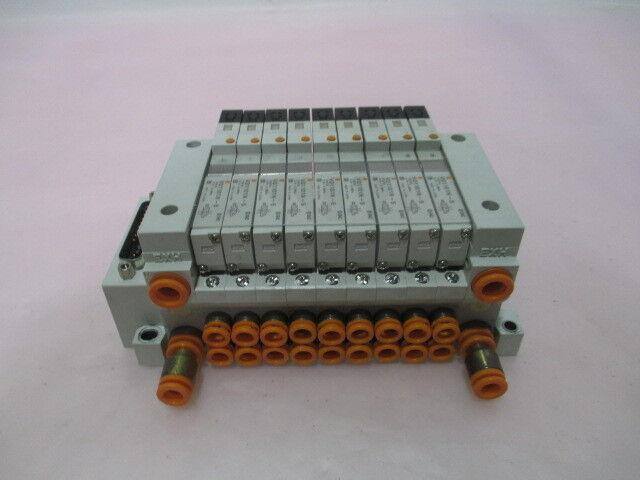 SMC US2979 Pneumatic Manifold, 9 VQ1101N-5, 415584