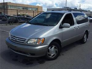 2003 TOYOTA SIENNA LE IN EXCELLENT CONDITION, ONLY 138,000 KM!