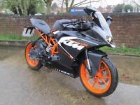 KTM RC 125 LEARNER LEGAL 125 MOTORCYCLE