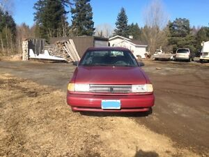 94 Mercury Topaz - No rust - excellent shape