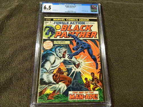 1973 MARVEL Comics JUNGLE ACTION #5 - 1st BLACK PANTHER In Title - CGC 6.5