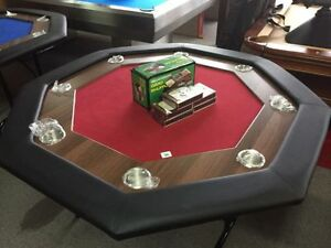 New Octagonal Supreme Poker Table @ Billard Jean