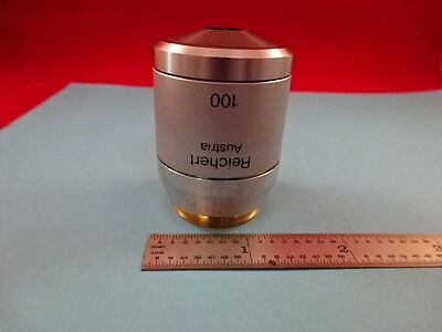 Reichert Austria Polyvar 100x Objective Optics Microscope Part As Is 19-a-10