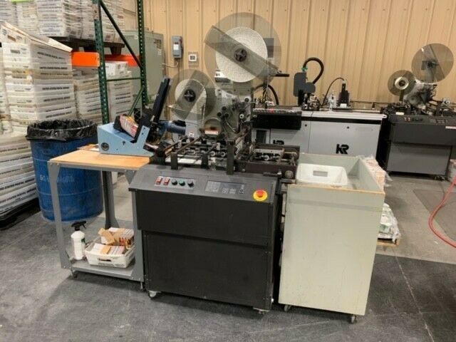 FlexSystems Specialty Equipment Tabber - Free Standing. Model FST-1000S