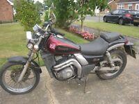 KAWASAKI EL 250cc D4 ELIMINATOR CUSTOM/CRUISER MOTORCYCLE-1993 MODEL-SPARES OR REPAIR.