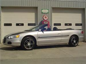 2006 Chrysler Sebring Convertible w/ ONLY 81,000 KM's