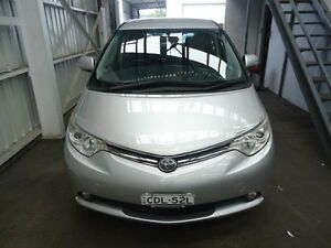 2008 Toyota Tarago ACR50R GLi Silver 4 Speed Automatic Wagon Cardiff Lake Macquarie Area Preview
