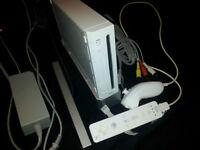 *****WHITE NINTENDO WII SYSTEM + MANY GAMES FOR SALE!!!!!*****