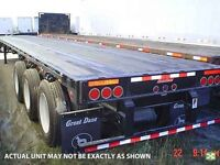 2015 Great Dane Deck, New Deck Trailer
