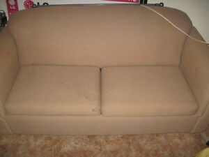 Brown Double Pull Out couch