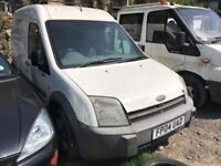 2004 Ford Transit Connect van petrol/gas, starts and drives, van located in Gravesend Kent, needs o2