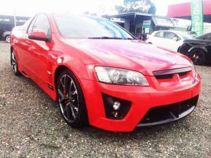 2007 Holden Special Vehicles Maloo E Series R8 Red 6 Speed Manual Utility Elizabeth West Playford Area Preview
