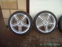 """AUDI 18"""" 8J ALLOYS AND TYRES"""