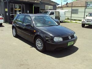 1999 Volkswagen Golf GL Black 4 Speed Automatic Hatchback Punchbowl Canterbury Area Preview