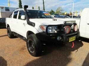2007 Toyota Hilux KUN26R MY08 SR 5 Speed Manual Cab Chassis